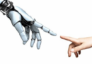 Robot hand touching fingertips with human hand [Tumisu / Pixabay]. (Fonte: https://www.telegraph.co.uk/connect/better-business/leadership/accenture/technology-to-benefit-everyone/)